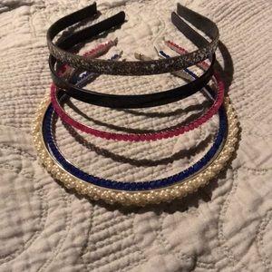J. Crew Headband Bundle